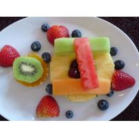 Cheap glass fruit plate L851 for sale
