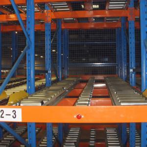 Cheap Steel Warehouse Flow Racks FIFO Order Picking System 1000kg - 6000kg Loading Capacity for sale