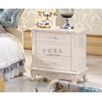 Cheap Night Stand Wooden 3 Drawer Bedside Table for sale