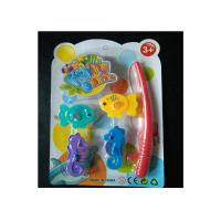 Cheap Kids Magnetic Fishing Game Set With Adorable Sea Horses And Fishing Rod for sale