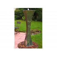 Cheap Modern Landscape Stainless Steel Water Features For The Garden , Mirror Polishing for sale