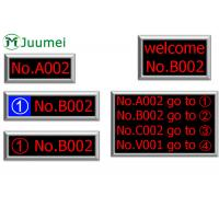 Cheap Dot Matrix Token LED Counter Display Bank Queue Number System for sale