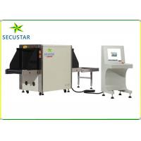 Cheap Middle Tunnel Size X Ray Baggage Scanner , Airport Security Luggage Scanner for sale