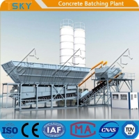 Cheap PLD2400 Aggregate Batcher 75m3/h RMC Batching Plant for sale