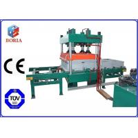 Cheap Four Cavities Pneumatic Vulcanizing Machine Electric Heating For Rubber Tile for sale