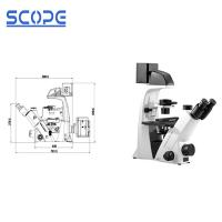 Cheap Biology Compound Inverted Biological Microscope For Research Laboratories for sale