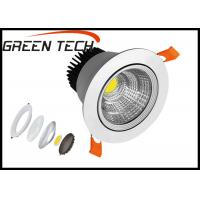 Cheap 15 Watt Dimmable LED Downlights , 3 Inch IP44 Indoor LED Round Downligt for sale