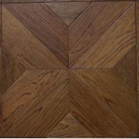 Cheap different designs white oak engineered parquetry tiles, customs design available for sale