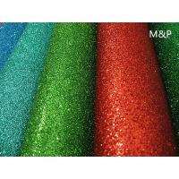 Cheap 2mm 50cm*50cm Red brown glitter EVA foam spray powders can improve the child beginning ability decorative background for sale