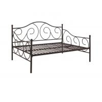 Cheap Multiple Sizes Queen Size Metal Daybed , Modern Metal Daybed With Headboard for sale