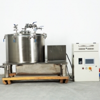 Buy cheap Jacketed Centrifuge Solvent Extraction Pilot Equipment Herbal Extraction Plant from wholesalers