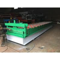 "Cheap Steel Sheet Roll Forming Equipment 10-15 Meters / Min 1""Chain Transmission for sale"