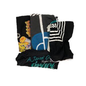 Cheap Disposable Deep Color T Shirt Mixed Cotton Rags for sale