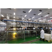 Cheap UHT Sterilizing Juice Pineapple Processing Line 1500T/Day for sale