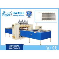 Buy cheap 6 head Automatic Condenser Wire Mesh Spot Welding Machine With DC Welding from wholesalers