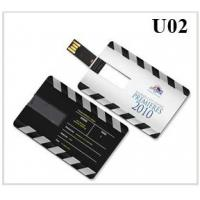 China Credit card shape USB flash drive on sale