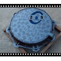 China lockable Hot sales 850x600x100mm EN124 D400 ductile iron manhole cover ,sewage cover  ,storm   drainage cover  hot sales on sale