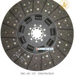 "Cheap 1861640135 350*195*10*51 volvo 0512 hub profile 2""-10n for sale"
