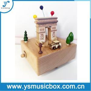 Cheap Souvenir Wonderful Wooden Music Box Gift Musical Box for sale