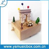 Buy cheap Souvenir Wonderful Wooden Music Box Gift Musical Box from wholesalers