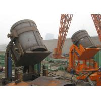 Cheap Steel pouring molten iron casting foundry casting mill hydraulic tilting steel ladle for sale