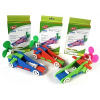Cheap Free shipping 10pcs a lot F1 air powered cars, EVA speed buggy, school art textbooks, educational toys for sale