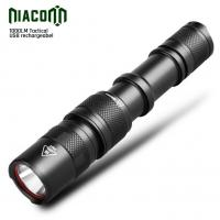 Buy cheap USB Rechargeable Led Tactical Flashlight , Cree xml 10w Tactical torch from wholesalers