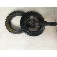 Cheap Custom Ring And Pinion Gears , Spiral Crown And Pinion Gear Long Using Life for sale