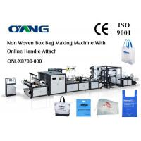 Cheap PP Woven Bag / Automatic Carry Bags Manufacturing Machines Eco Friendly for sale