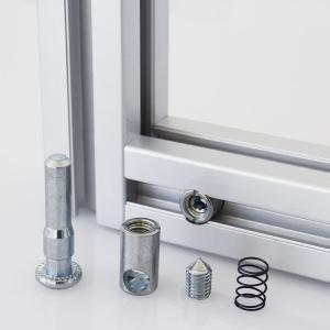 Cheap Compatible Aluminum Alloy Profile Accessories For T Slot Aluminum Extrusion for sale