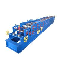 Cheap 2-3mm Galvanized Strip CZ Purlin Machine With 11kw Power 12 Rows Of Rollers for sale