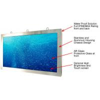 Cheap Touch Screen Display Rugged LCD Monitor 65 Inch Heavy Duty Stainless Steel IP66 for sale