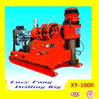 Cheap China Hot Sale XY-1000 Powerful Skid Mounted Big-pile Foundation Engineering Drilling Rig for sale