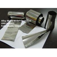 Cheap Alloy 80/20 Nickel Chromium Special Alloys For Electronic With Good Oxidation Resistance for sale