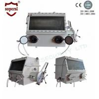 Cheap Stainless Steel Laboratory Glove Box / Anaerobic Glove Box Medical Equipment for sale