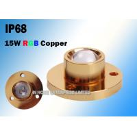 Cheap CREE Copper 15W RGB LED Boat Light For Yacht 3 Years Warranty for sale