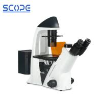 Cheap Laboratory Inverted Fluorescence Microscope Long Work Distance Objective for sale