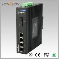 1.2Mpps Fiber Optical Network Switch , Din Rail Installed Outdoor Ethernet Switch