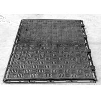 China Surface Painting Ductile Iron Manhole Cover Ductile Iron Cover And Frame on sale
