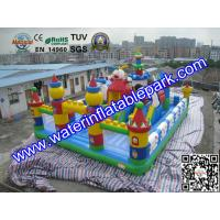 Buy cheap Amazing Amusement Park / Inflatable Bouncy Castle Bounce Houses Rentals from wholesalers