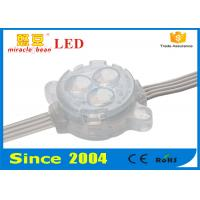 China 12V 5050SMD Led Sign Module 30mm RGB Full Color Fire Protection on sale