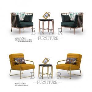Cheap Italian Designer Modern Living Room Leisure leather Upholstered Arm Chair for sale