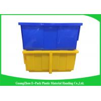 Quality Warehouse Storage Bins on sale plasticattachedlidcontainers