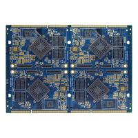 Cheap FR4 Electronics Air Conditioner Part PCB Multilayer Board Blue Soldermask for sale