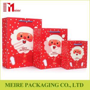 Christmas Santa Claus Pattern Handbag Xmas Decor Wedding Candy Gift Paper Bags