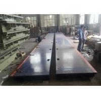 Cheap 3*15m 120 Ton Electronic Lorry Weighbridge Anti Corrosion Painting Easy Assembly for sale