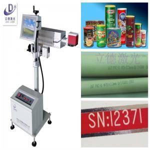 China Custom Laser Date Code Printer , Laser Engraving Machine For Plastic  Bottle on sale