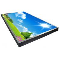 Big Industrial Sunlight Readable LCD Monitor , Daylight Viewable Monitor 75 Inches Size
