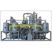 Cheap Engine Oil Distillation System, Base Oil Distillated Production Line for sale