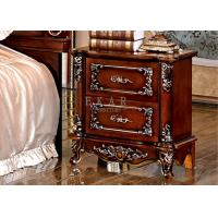 Cheap Antique Bedside Tables wooden Nightstand for sale